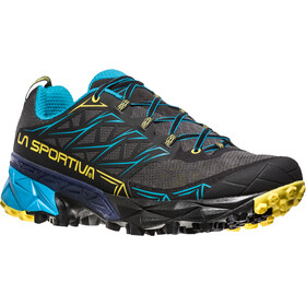 La Sportiva Akyra Running Shoes Men Carbon/Tropic Blue